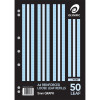 OLYMPIC REINFORCED REFILLS A4 297x210mm 50Leaf 5mm Graph Pack of 50