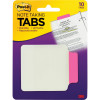 POST-IT DURABLE TABS Pink Note Taking 10 Tabs Per Pack