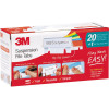 3M SUSPENSION FILING TABS Clear Red Blue Yellow Green Orange w/Pen 24 Inserts Pack