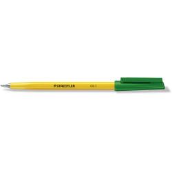 STAEDTLER BALLPOINT PEN Stick 430 Fine Green