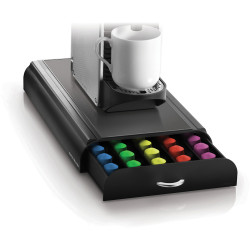 ESSELTE ANCHOR NESPRESSO 50 POD DRAWER Black