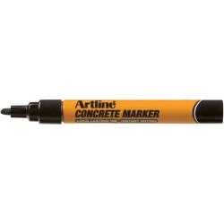 ARTLINE CONCRETE PERMANENT Marker Black Pack of 12