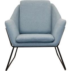 Cardinal Lounge Chair 1 Seater 755Wx800Dx870mmH Light Blue