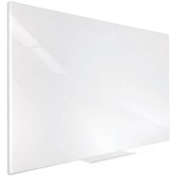 VISIONCHART ACCENT GLASS WHITEBOARD 600x450mm White