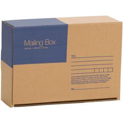 Cumberland Mailing Box 220mm x 160m x 77mm Brown