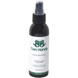 Two Hands Hand Sanitiser 125ml Mist Spray 60% Alcohol