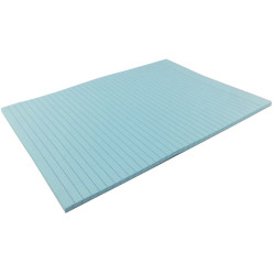 Writer Bond Pad A4 Double Sided Ruled Blue 50 Sheets