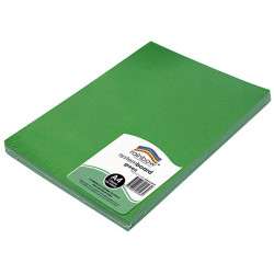 RAINBOW SYSTEM BOARD 150GSM A4 Green Pack of 100