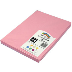 RAINBOW SYSTEM BOARD 150GSM A4 Pink Pack of 100