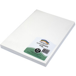 RAINBOW SYSTEM BOARD 150GSM A4 White Pack of 100
