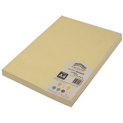 RAINBOW SYSTEM BOARD 150GSM A4 Yellow Pack of 100