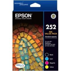 INKJET CART EPSON #252 VALUE PACK