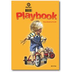 OLYMPIC PLAY BOOK 32Leaf10mm Ruled/Plain 335x245