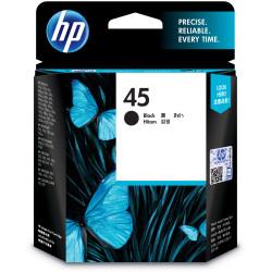 HP No.45A INKJET CARTRIDGE 51645AA, Large, Black