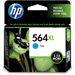 HP #564XL INKJET CARTRIDGE CB323WA, Cyan