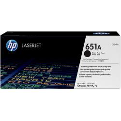 HP 651A BLACK TONER CART 13.5K