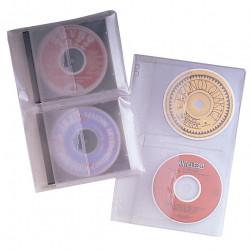 FELLOWES BINDER SHEET CD PACK 3.5 Inch - 2 Capacity P/Sheet