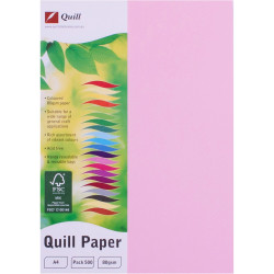 QUILL XL MULTIOFFICE PAPER A4 80gsm Musk Pack of 500