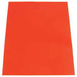 CUMBERLAND COLOURFUL CARDBOARD A4 200g Scarlet Pack of 50