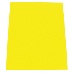 CUMBERLAND COLOURFUL CARDBOARD A4 200g Sunshine Yellow Pack of 50