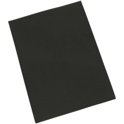 CUMBERLAND COLOURFUL CARDBOARD A4 200g Black Pack of 50