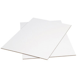 CUMBERLAND WHITE/PASTE BOARD 508x635mm 200gsm - 3sheet Pack of 100
