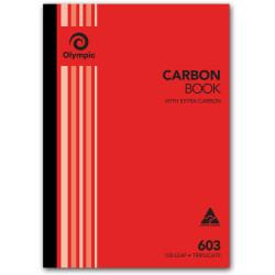 OLYMPIC RULED CARBON BOOKS 603 Trip 100Leaf A4 210x297mm
