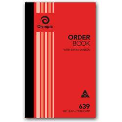 OLYMPIC CARBON ORDER BOOKS 639 Trip 100Leaf 200x125mm