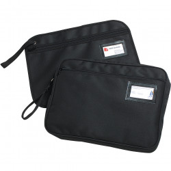 MARBIG CONVENTION SATCHEL Fabric Zippered Black