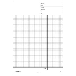 DEBDEN QUOTATION NCR PAD Contractor Plus 245x350 Pack of 2