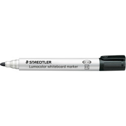 STAEDTLER 351 WHITEBOARD MARKR Bullet Black
