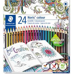 STAEDTLER NORIS CLUB Assorted Coloured Pencils Pack of 24