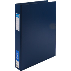 BANTEX PVC BINDERS A3 4D Ring 38mm Portrait Blue