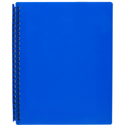 MARBIG REFILLABLE DISPLAY BOOK A4 20 Pocket Blue
