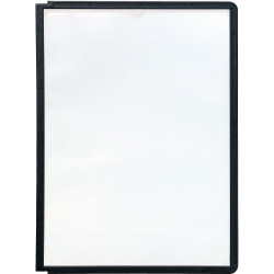 DURABLE SHERPA DISPLAY SYSTEM Panels A4 Pack 5 Black Pack of 5