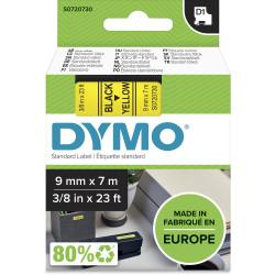 DYMO D1 LABEL CASSETTE 9mmx7m -Black on Yellow