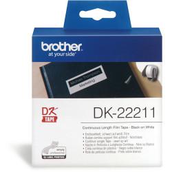 BROTHER LABEL PRINTER ROLLS White Film 29mmx15.24mt
