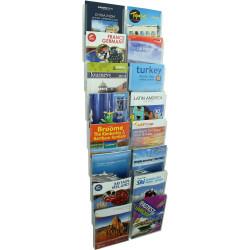 ESSELTE CLIPLOCK WALL SYSTEM Brochure Holder 16xA4 Pockets