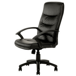 STAR MANAGER CHAIR H/B Black
