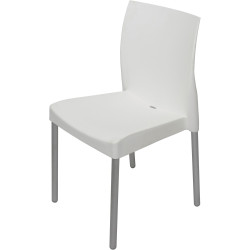 RAPIDLINE LEO CHAIR Hospitality Stacking Chairs White