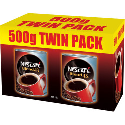NESCAFE BLEND 43 COFFEE 500gm - Pack of 2