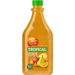 GOLDEN CIRCLE FRUIT JUICE 2lt 100% L/Life Tropical Fruit