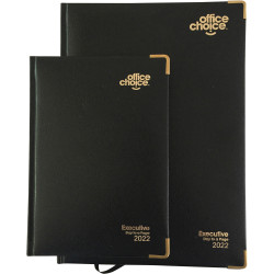 OFFICE CHOICE EXECUTIVE DIARY A5 1 Day to a Page 1 Hr
