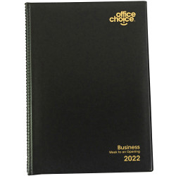 OFFICE CHOICE BUSINESS DIARY A4 Week to an Opening 1 Hr Appointment 8am - 6pm