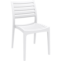 ARES HOSPITALITY CHAIR White
