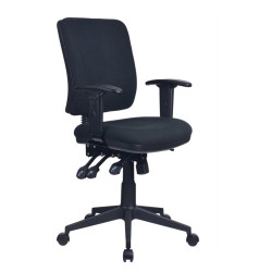 AVIATOR ERGONOMIC CHAIR With Arms Ratchet back with Seat Slide
