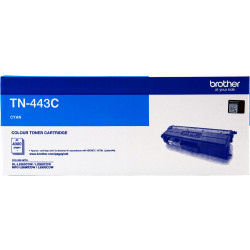 BROTHER TN443 Toner Cartridge Cyan HY