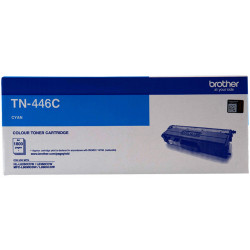 BROTHER TN446 Toner Cartridge Cyan Super HY