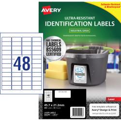 Avery 959240 Ultra Heavy Duty Industrial Labels White L7911