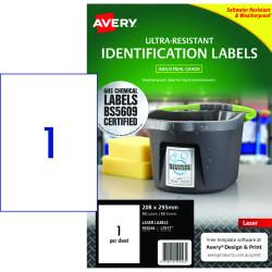 Avery 959246 Ultra Heavy Duty Industrial Labels White L7917